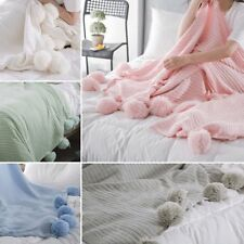 100% Cotton Bed Throws