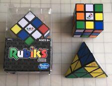 Lot of 3 Puzzles Original Rubik's Cube 3x3x3  Game & Mefferts Pyramid