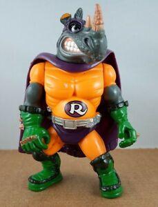 RHINOMAN Teenage Mutant Ninja Turtles TMNT Sewer Heroes Playmates 1993 Figure