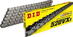 D.I.D. Pro VX-Ring Chain 90 Links Natural 520VX3 520VX3X90FB