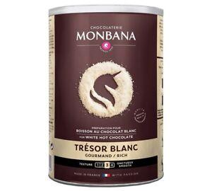 Monbana Tresor De White Chocolate (500g)