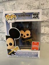 Funko Pop! #334 - Kingdom Hearts - Organization 13 Mickey - Summer Con Exclusive