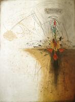 """""""Les Caprices"""". Aquatina mit Prägung Georges DUSSAU (*1947 FRA) handsigniert"""