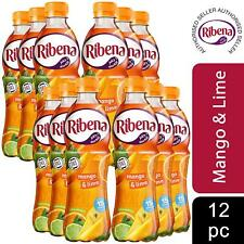 12 Pack of Ribena Mango and Lime Ready to Drink Juice, 500ml