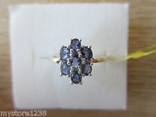 Catalina Lolite Ring Sterling Silver Size 8