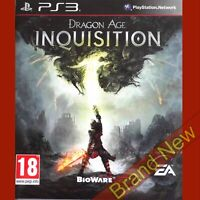 DRAGON AGE INQUISITION - PlayStation 3 PS3 ~ PEGI 18 Brand New & Sealed
