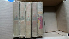The MEADOW BROOK GIRLS Lot of 5 Antique Books from 1911 to 1914