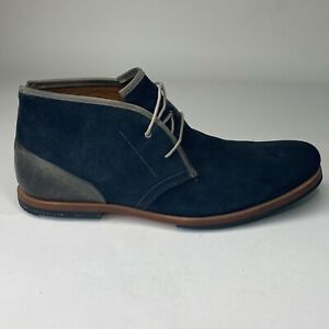 Timberland Mens Earthkeepers Brook Park Blue Suede Chukka Boots Shoes Sz 10 M