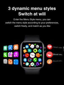 2021 HW22 Full Screen Smart Watch 44MM  UNISEX Smartwatch