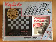 Schachcomputer Schachschule Mephisto 1990, OVP