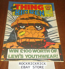 THE THING IS BEN (MARVEL COMIC) -23rd MAY 1984 NO 9-
