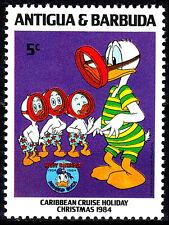 Antigua postfrisch MNH Disney Donald Duck Tauchen Sport Zeichentrick Comic / 5