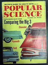 1958 Popular Science November Back Issue Magazine