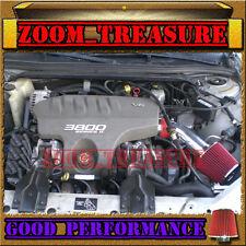 RED 1997-2005/97-05 MONTE CARLO/GRAND PRIX/INTRIGUE 3.8L V6 AIR INTAKE KIT