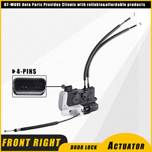 New Front Right Door Lock Latch Actuator Assembly fit 2011-2015 Hyundai Tucson