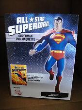 DC Comics ALL Star SUPERMAN DVD ANIMATION MAQUETTE STATUE NIB!! JUSTICE LEAGUE