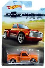 2018 Hot Wheels Chevrolet Trucks 100 years #8 Custom '69 Chevy Pickup