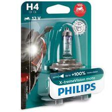 Philips H4 X-tremeVision Moto Halogen - Motorrad Lampe Single