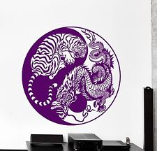 Wall Vinyl Decal Yin Yang Buddha Yoga Meditation Zen Decor For Bedroom z3863