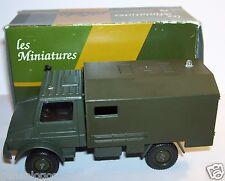 SOLIDO FABRICADO en FRANCIA MERCEDES UNIMOG 1/50 1989 MILITAR militar en box