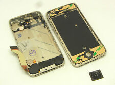 Apple iPhone 4S Mittelrahmen Ladebuchse Power flex Middle Bezel Frame Komplett