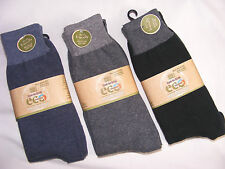FADED GLORY - ECO - Mens Casual Socks 6pr Size 10-13 Multi-Color NEW NOS