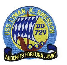 USS Lyman K. Swenson DD 729 - 5 inch FE BC Patch Cat. No. C5520