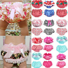 Infant Baby Girl Boy Cotton Shorts PP Pants Nappy Diaper Covers Printed Bloomers