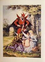 Victorian Era Erotik Sex Art Love Devil Erotic Penis Oral Vagina England 1880