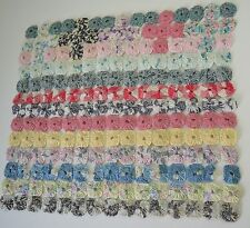 DELIGHTFUL VINTAGE ANTIQUE DOLL'S YOYO QUILT SS640