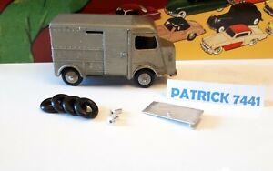 Kit restauration  Citroen HY 1200 kg Dinky Toys