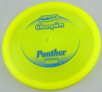 NEW Champion Panther 168g Mid-Range Yellow Innova Disc Golf at Celestial Discs