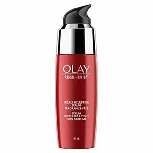 Olay Regenerist Micro-Sculpting Serum with Hyaluronic Acid, Fragrance-Free Face