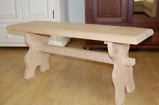 Cottage Bench Bench Vorbank Landau Solid Spruce Waxed R138 110cm New
