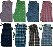 Ralph Lauren Polo Mens Cotton Pajama Pants - Size M L XL - NEW STOCK New w/Tags