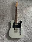 Fender Blacktop Telecaster 2010 MIM HH Inca Silver Guitar Upgrades + Gig Bag for sale