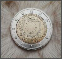 〰️2 Euro Münze〰️ FEHLPRÄGUNG❕ Deutschland 2015 A  (30 Jahre Europa-Flagge)