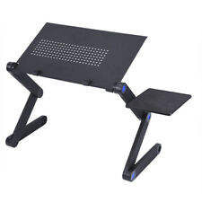 Portable Adjustable Aluminum Laptop Desk Ergonomic Table Stand With Mouse Pad OX