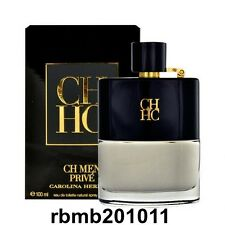 CH Prive for Men by Carolina Herrera 3.4 oz / 100 ml Eau de Toilette -NIB Sealed