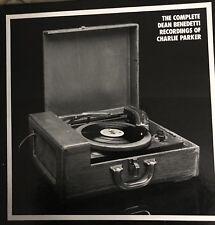 CHARLIE PARKER: 10 LP Mosaic Box Set! The Dean Benedetti Complete Recordings