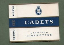 Old EMPTY cigarette packet Cadits size 20  different variety   #316
