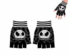 Nightmare Before Christmas Adult Jack Skellington Fingerless Gloves