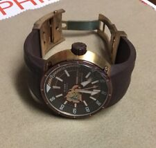 MOMO Design Diver Pro Made in Italy Swiss Automatic Men's Watch Brown $1300 MINT