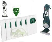 12 Vlies Staubsaugerbeutel geeignet für Vorwerk Kobold VK 140, VK 150 Filtertüte