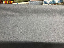 Callamezzo Steel Chenille Basketweave Upholstery fabric by the yard