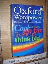 DIZIONARIO -OXFORD WORDPOWER - OXFORD UNIVERSITY PRESS 2003 - NUOVO MA COPERTINA