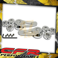 Chrome Billet Aluminum Door Handle Kit - Chevy Ford Mopar