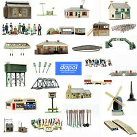 Dapol Model Building Kits OO Gauge Scale Model Railway Scenery Figures