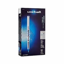 Uni-ball Uniball Vision Rollerball Pens Fine Point 0.7mm Blue 12 count Gel ink