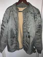 Us Airforce Military Liner Jacket Mans Sz Larg- Reg 1950's-1960's
